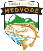 Ribiška družina Medvode Logo